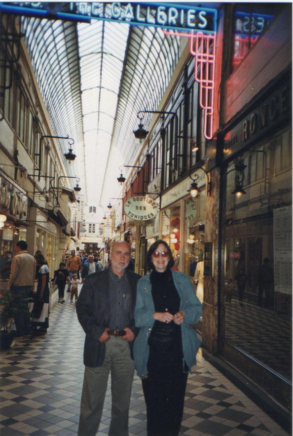 Gail Mazur and Adam Zagajewski